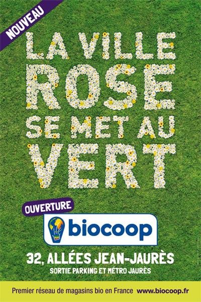 En Effet Le Mercredi 9 Mars Prochain Un Magasin Biocoop Ouvre Ses Portes Au 32 Allees Jean Jaures Plein Centre De La Ville Rose