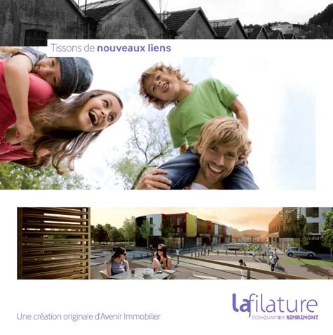 Eco Quartier de la Madeleine à Remiremont Filature1