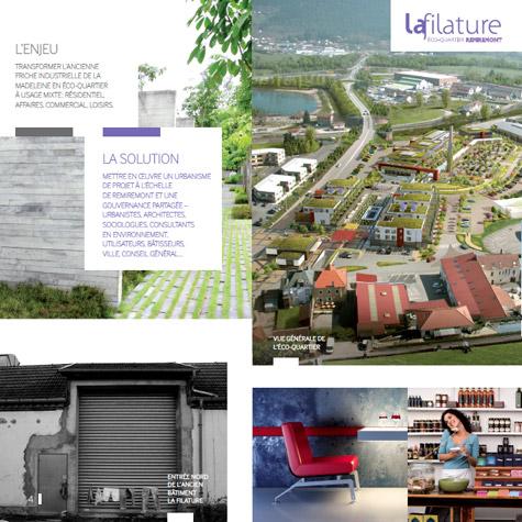 Eco Quartier de la Madeleine à Remiremont Filature2